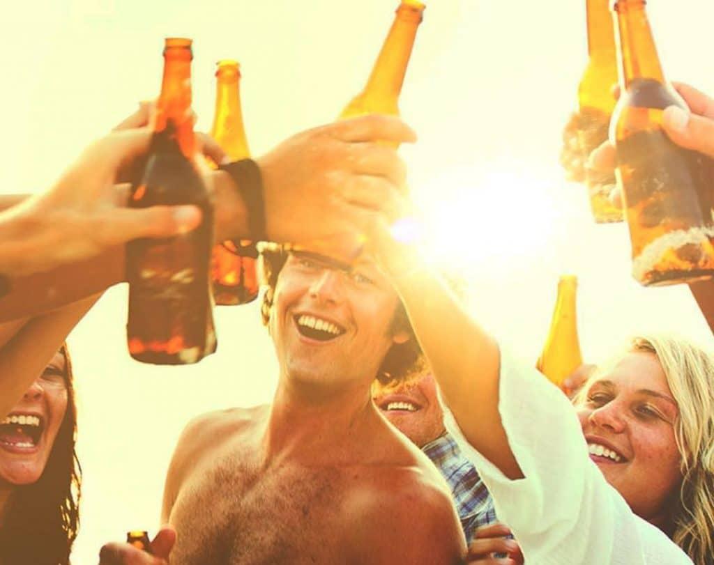 Beach parties