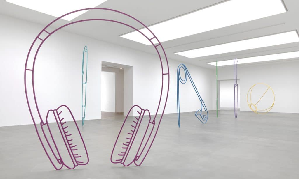 These Incredible Sculptures Of Everyday Objects Look Like Perfect Line Drawings