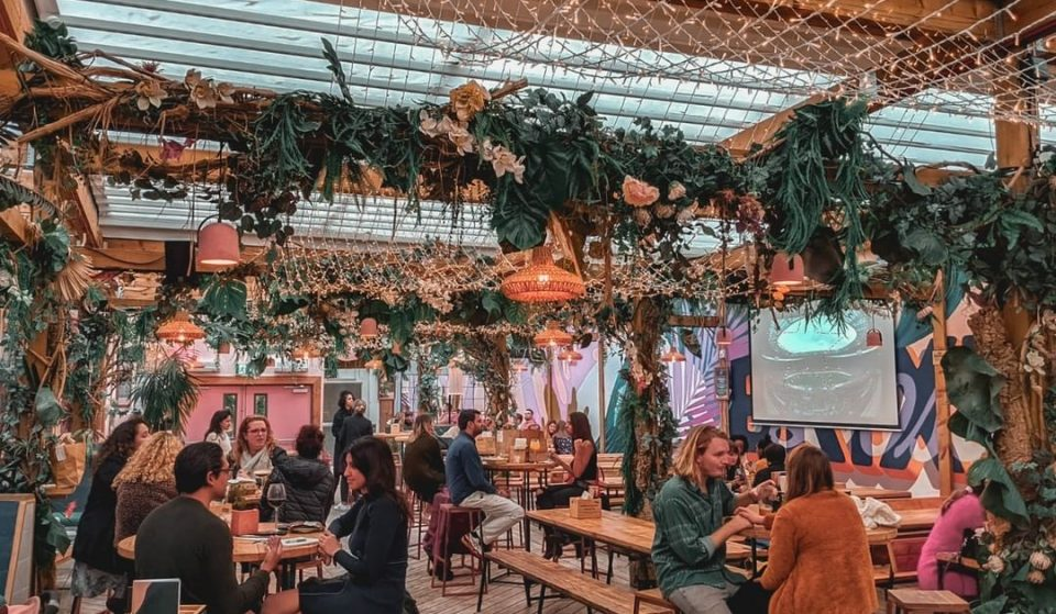 There's A Hidden Jungle-Themed Roof Terrace Above Brixton Market •Lost In Brixton