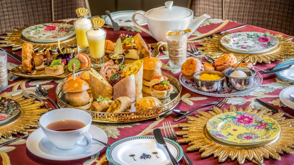 Indian-themed afternoon tea