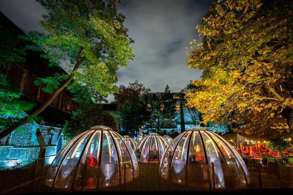 These Dashing Domes Are Perfect For A Reunion Dinner With Pals