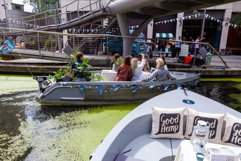 This Sustainable GoBoatanical London Canal Cruise Is Not To Be Missed