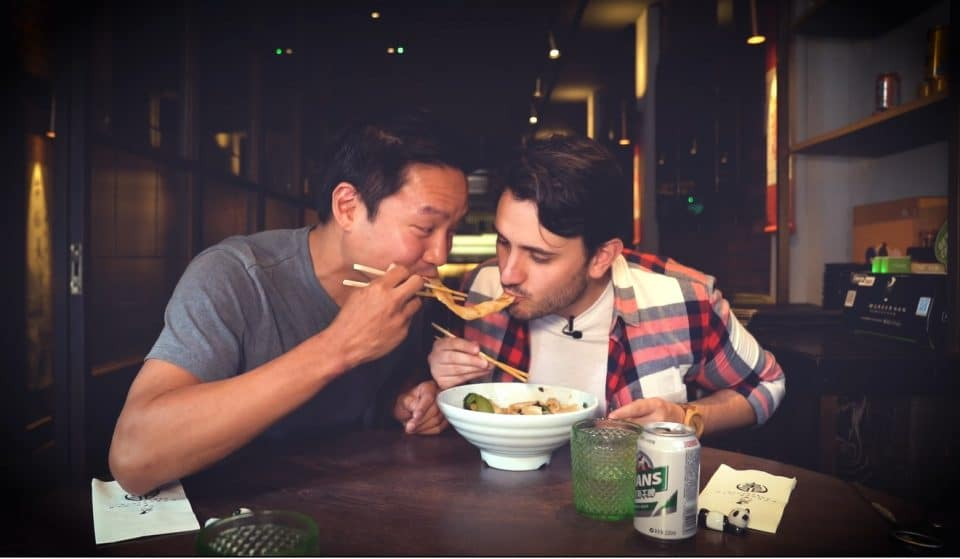 We Ate The Longest Noodles In London, And Here's What Happened