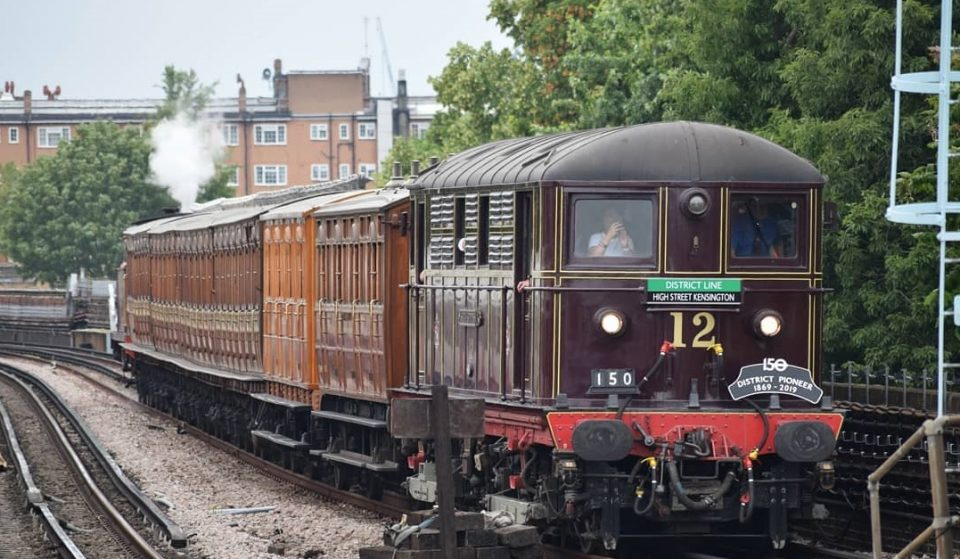 A Vintage Tube Train Will Roll Through London This September