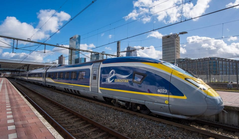 'Push For Champagne' Buttons Are Coming To The Eurostar
