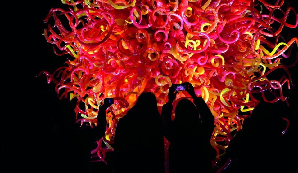 Explore Kew Gardens By Night At This Gorgeous Illuminated Art Show