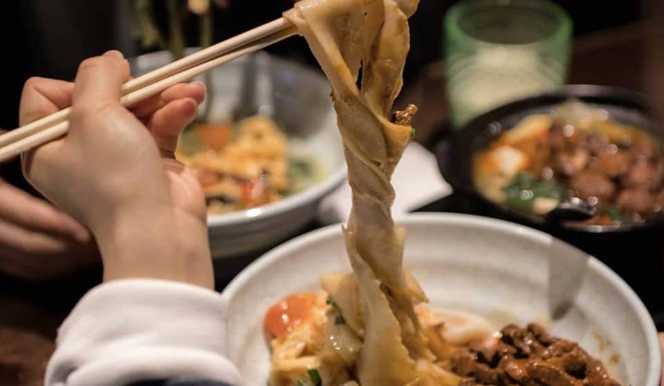 This London Restaurant Serves Epic 12-Foot Noodles • Murger Han