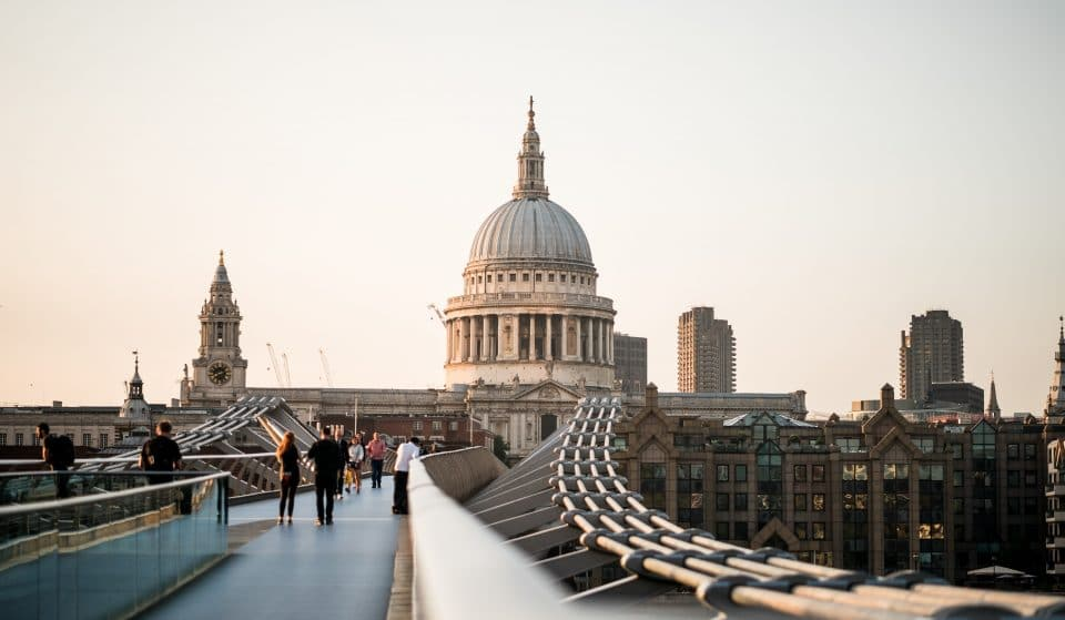 You Can Watch The Sunset From The Top Of St Paul's Cathedral This Month
