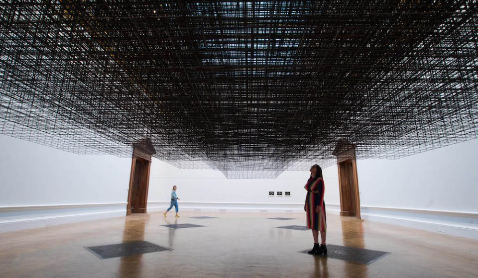 A Huge New Antony Gormley Exhibition Has Opened At The Royal Academy