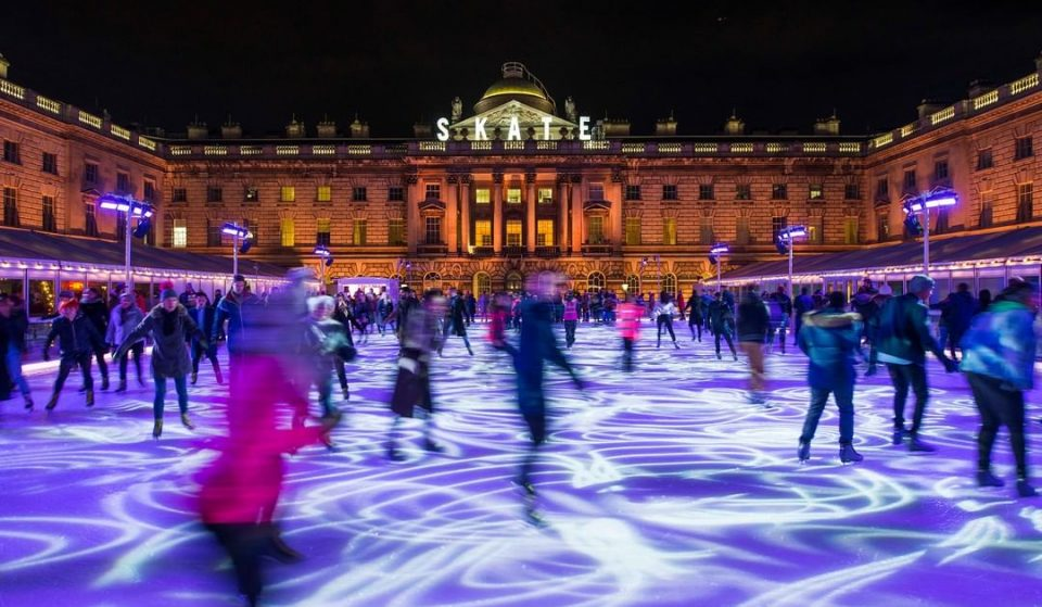 An Epic 24-Hour Skating Session Is Coming To The Somerset House Ice Rink