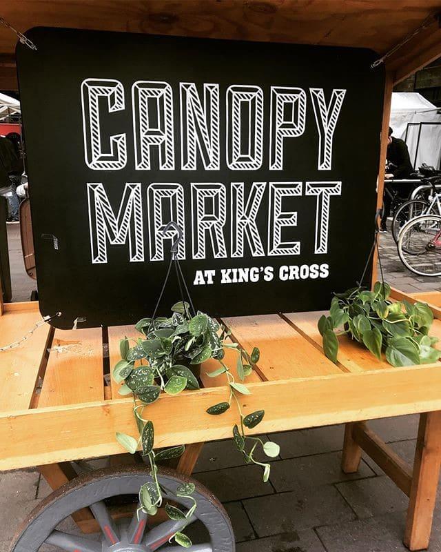 cider festival: Canopy Market London