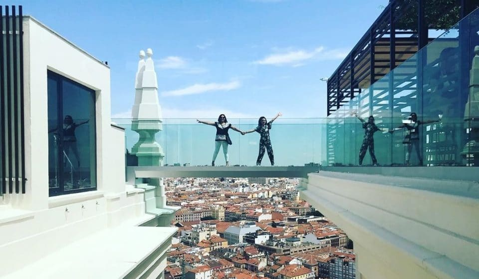 Madrid Just Got A Stunning Glass Walkway Above The City, And We Want One Too