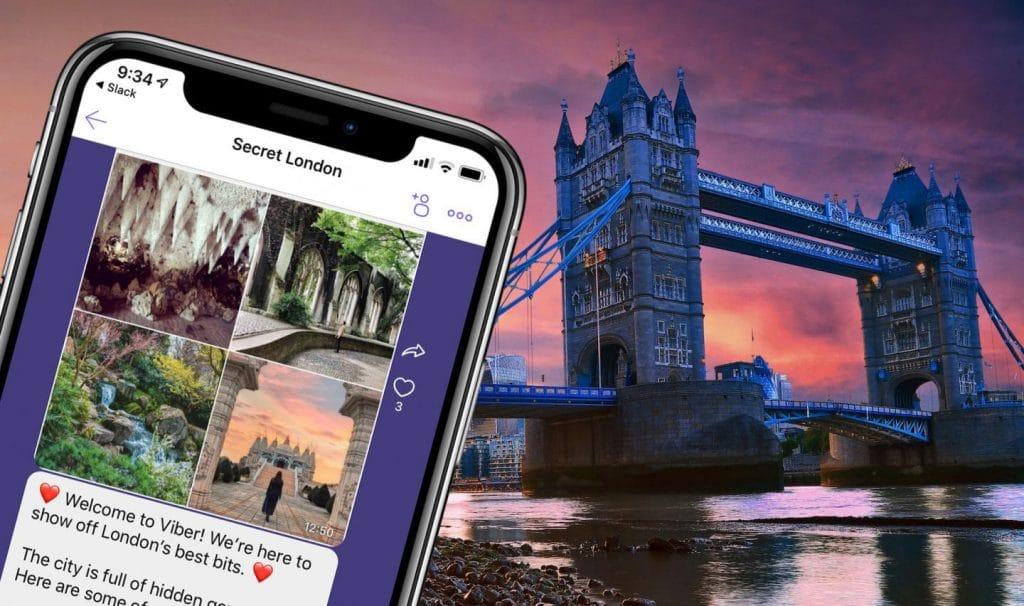 Viber Secret London