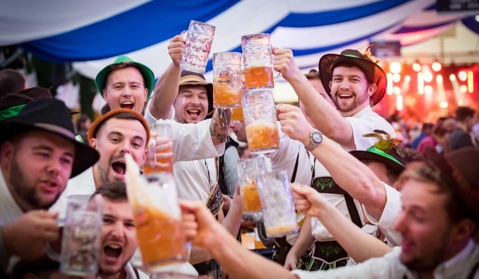 Say 'Prost!' To London's Fabulous Waterside Oktoberfest