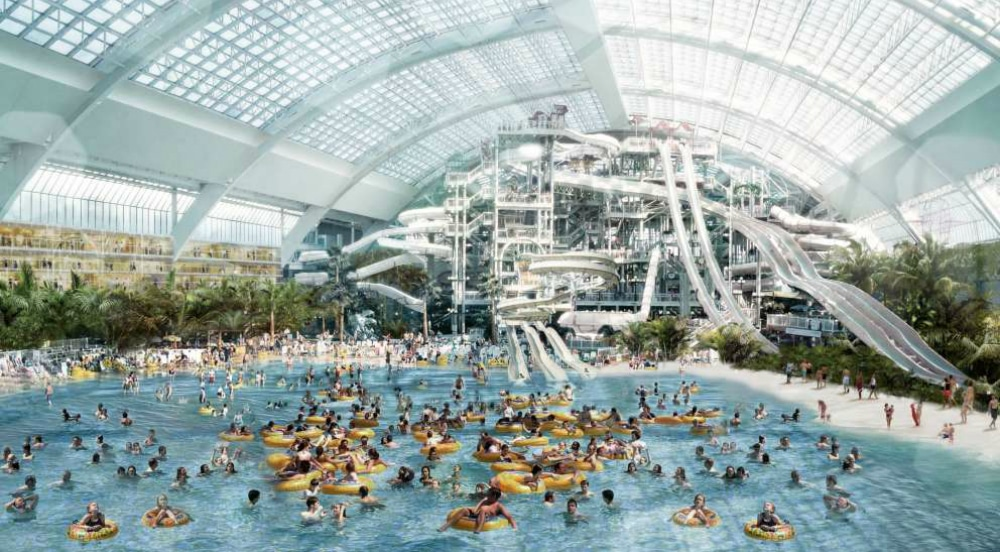 A Mega-Mall With The Largest Indoor Water Park In The Western Hemisphere Is Opening In New Jersey