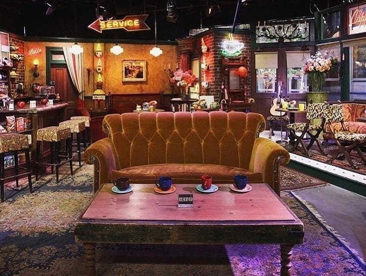 The Iconic 'Friends' Sofa Is Travelling The World – And It's Coming To London This Month