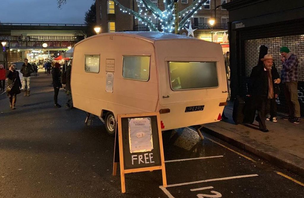 You Can Watch Plays For Free In This 10-Seater Caravan In Kensington
