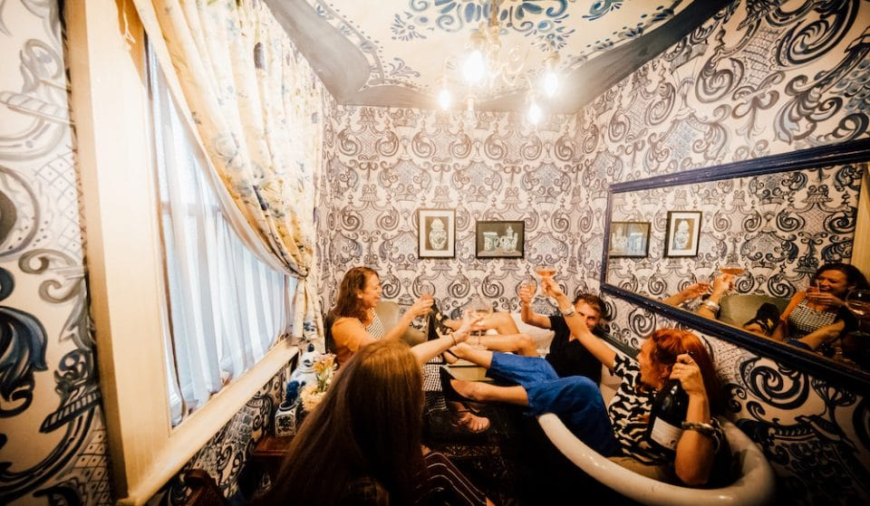 You Can 'Press For Prosecco' At This Immersive House Party-Style Bar •Darling House