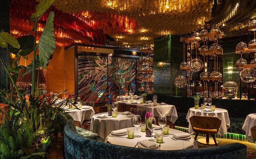 The Breathtaking Mayfair Restaurant Inspired By The Rainforest • Amazonico