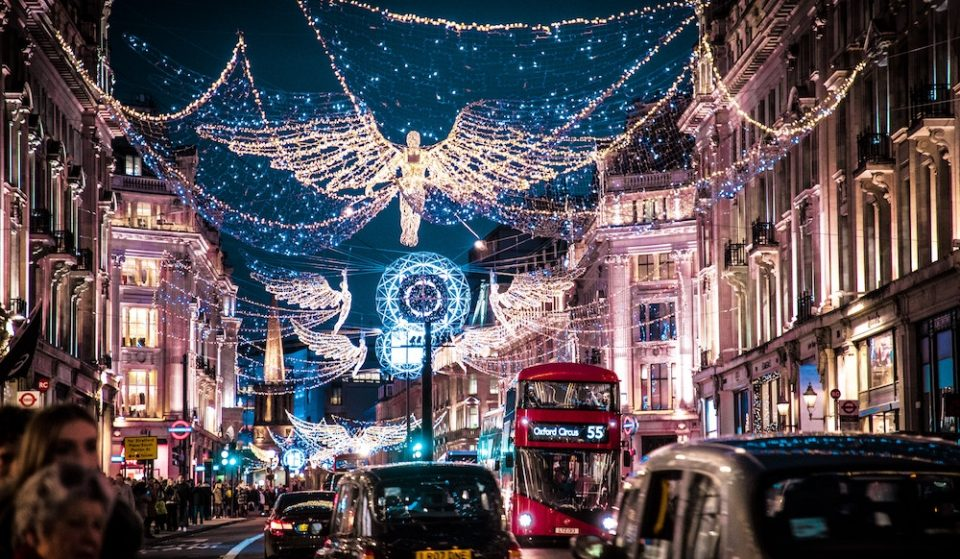 18 Twinkling Christmas Lights Displays To See In London In 2020