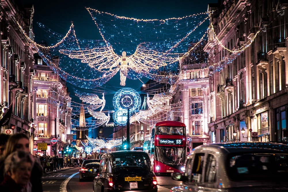 When Do The Christmas Lights Go On In London 2020 Christmas Lights In London: The Best Festive Displays In 2020