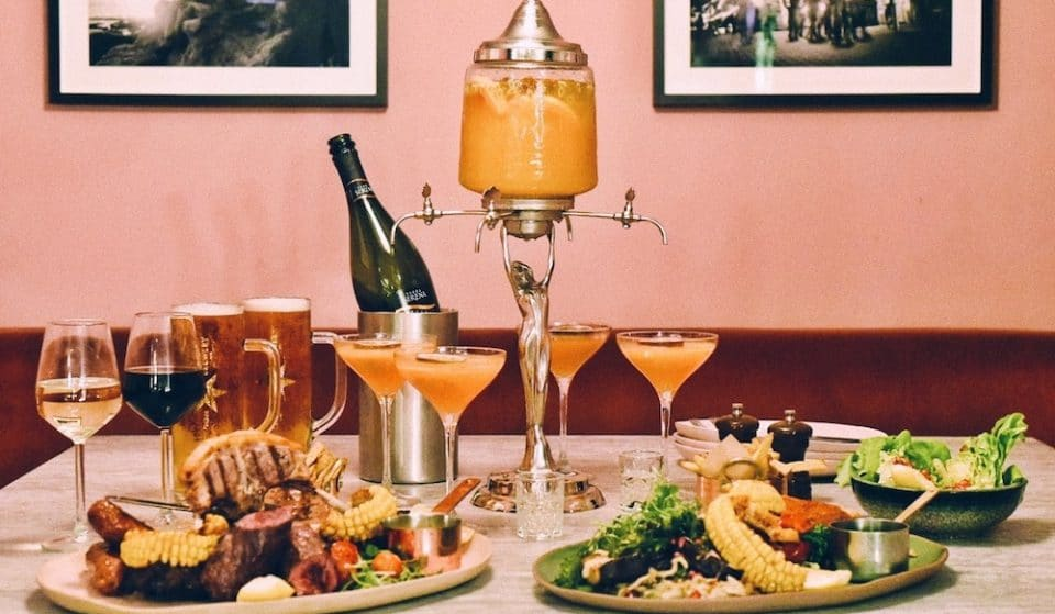 A Bottomless Dinner With A Pornstar Martini Fountain Has Arrived In Soho