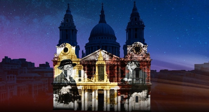 This Stunning Light Show Will Illuminate St Paul's Cathedral