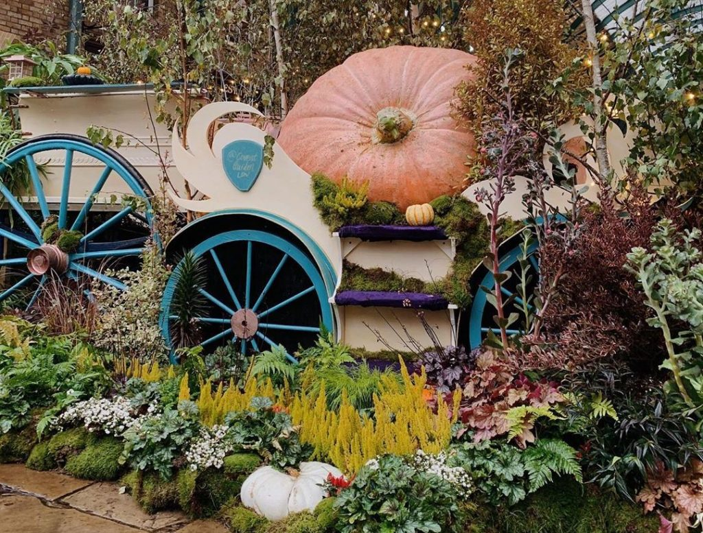 A Giant Pumpkin Installation Inspired By Cinderella Has Appeared In Covent Garden