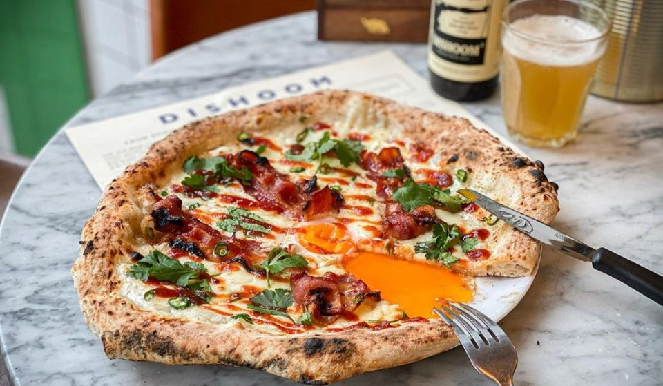 Dishoom's Bacon & Egg Naan Is Now Available As A Pizza