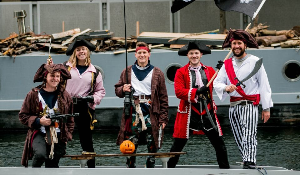 A Pirate Treasure Hunt Is Coming To Regent's Canal This Month