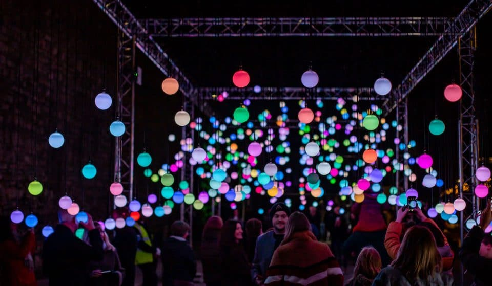 This Colourful, Multi-Sensory Light Installation Has Arrived In London For The Winter