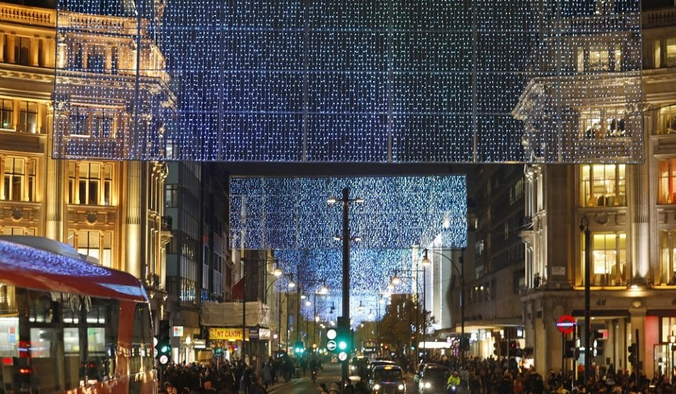 Oxford Street Will Unveil A Magical Christmas Lights Display This November