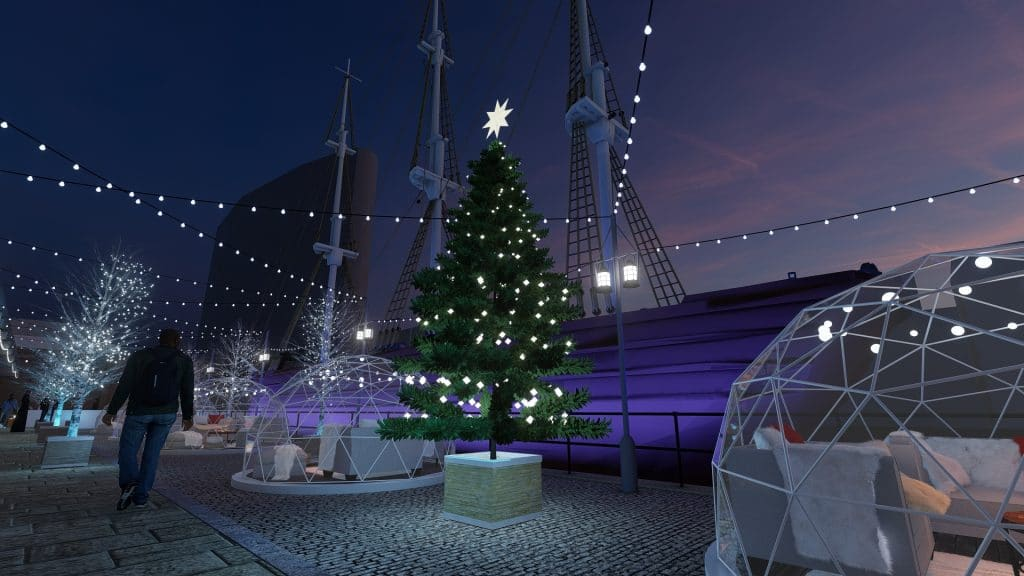 Skylight Christmas