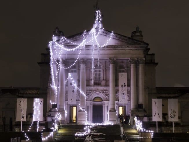 Tate Britain's Gorgeous Winter Transformation Has A Very Important Message