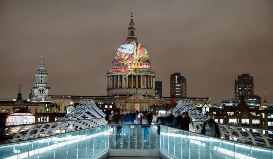 A William Blake Masterpiece Will Illuminate St Paul's Cathedral This Weekend