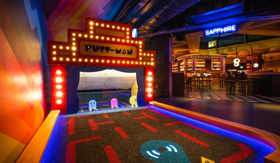 A Huge New Crazy Golf Venue Has Launched Inside Bank Underground Station