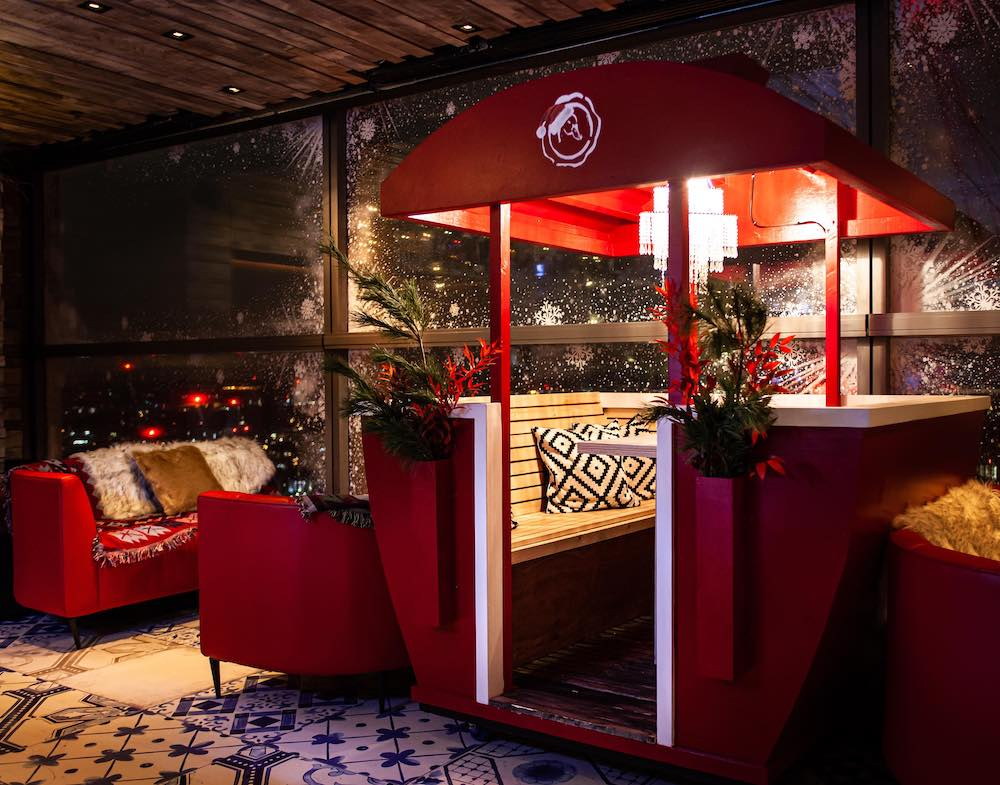 Sky-High Restaurant Duck & Waffle Has Transformed Into A Nordic Wonderland