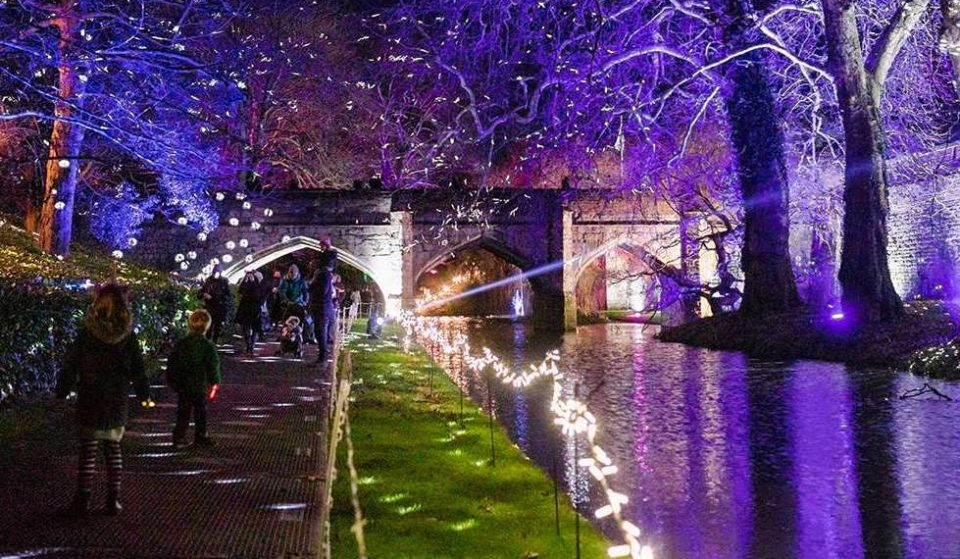 This Gorgeous Light Show Is Returning To Eltham Palace In December