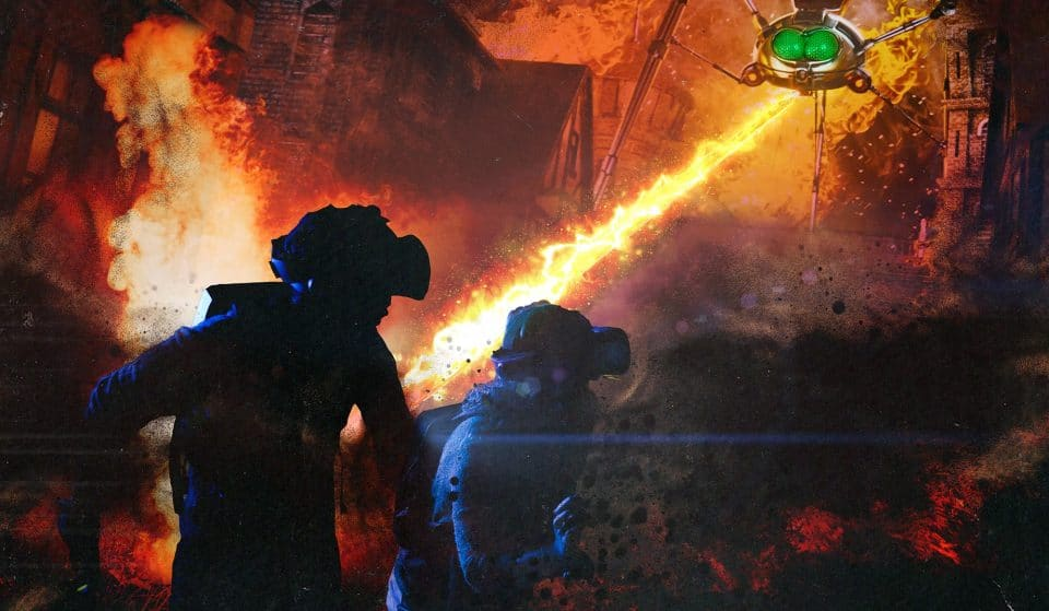 Step Inside London's Thrilling 'War Of The Worlds' Experience