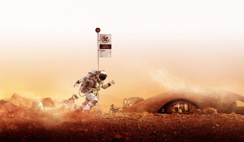 This Thought-Provoking Exhibition Imagines Our Life On Mars