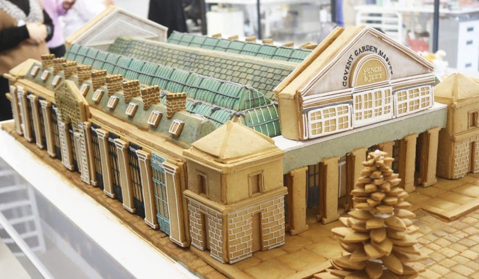 This Giant Gingerbread Model Of Covent Garden Market Is Pure Christmas Goals