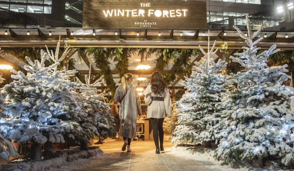 A Magical Winter Forest Is Heading To Central London This November