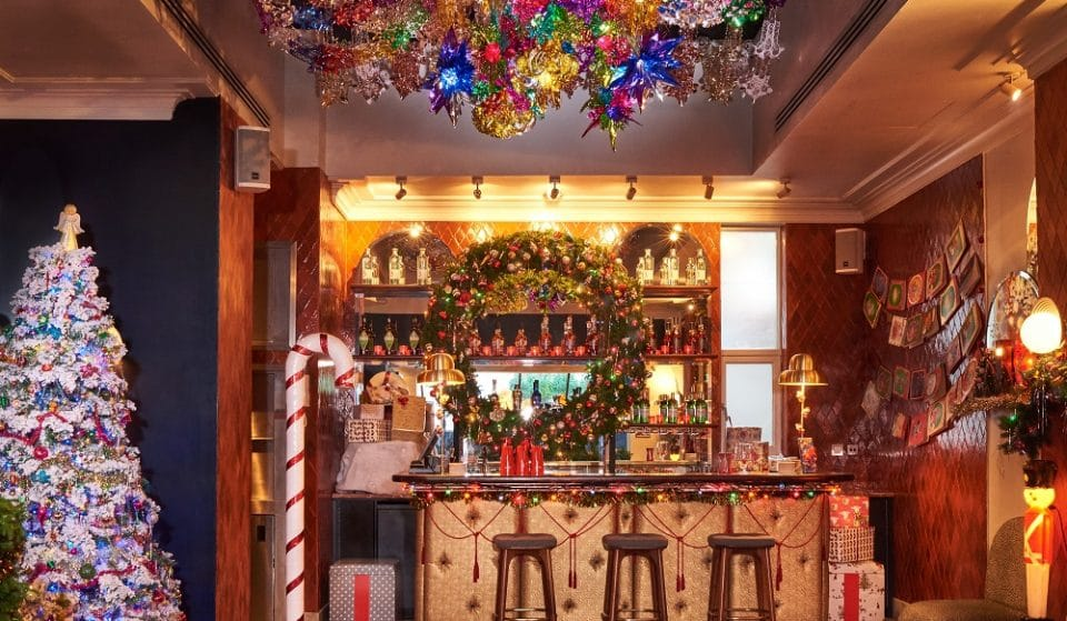 This Insanely Christmassy Cocktail Bar Has Returned To London