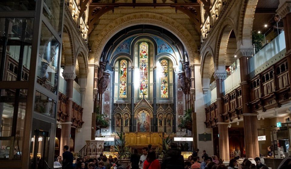 The Heavenly Food Hall Found Inside A Restored Mayfair Church • Mercato Mayfair