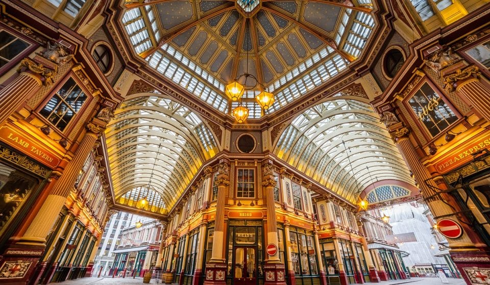 The Magical London Market With A Wonderful History Of Wizards And Muggles • Leadenhall Market