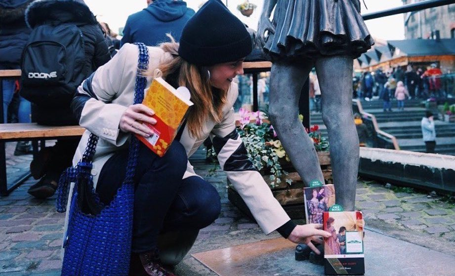 Book Fairy Emma Watson Has Hidden Free Copies Of 'Little Women' All Over London