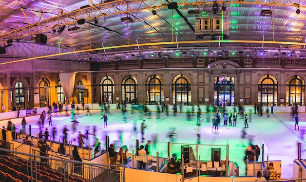Glide Into The Festive Season At Alexandra Palace's Incredible Ice Rink