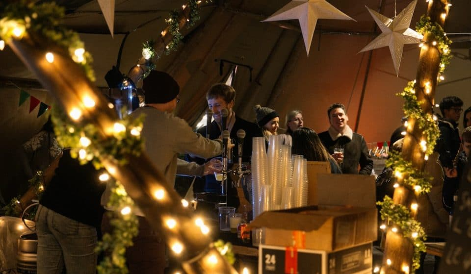 City Island Ice Rink Is Bringing Festive Magic To London This Month