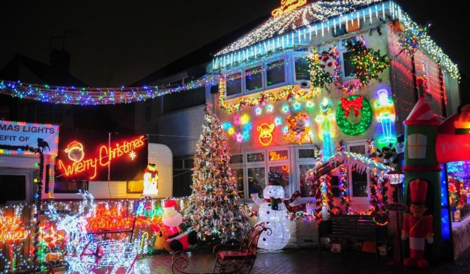 Feast Your Eyes On The Most Christmassy House In London