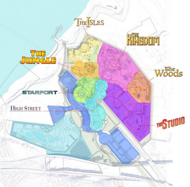 London resort map